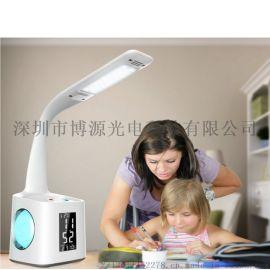 简约现代床头灯可调光触摸LED儿童护眼笔筒礼品台灯