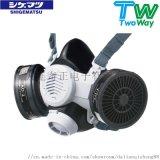 日本重松防尘防毒面具TW08SF自带传声器