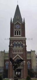 欧式大钟济南总厂创意性户外时钟