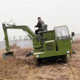 輪式多功能吊挖一體機 園林綠化挖吊一體機