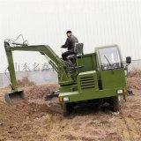 轮式多功能吊挖一体机 园林绿化挖吊一体机