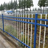 建筑工程锌钢护栏 厂区小区草坪围墙铁艺方管隔离栏