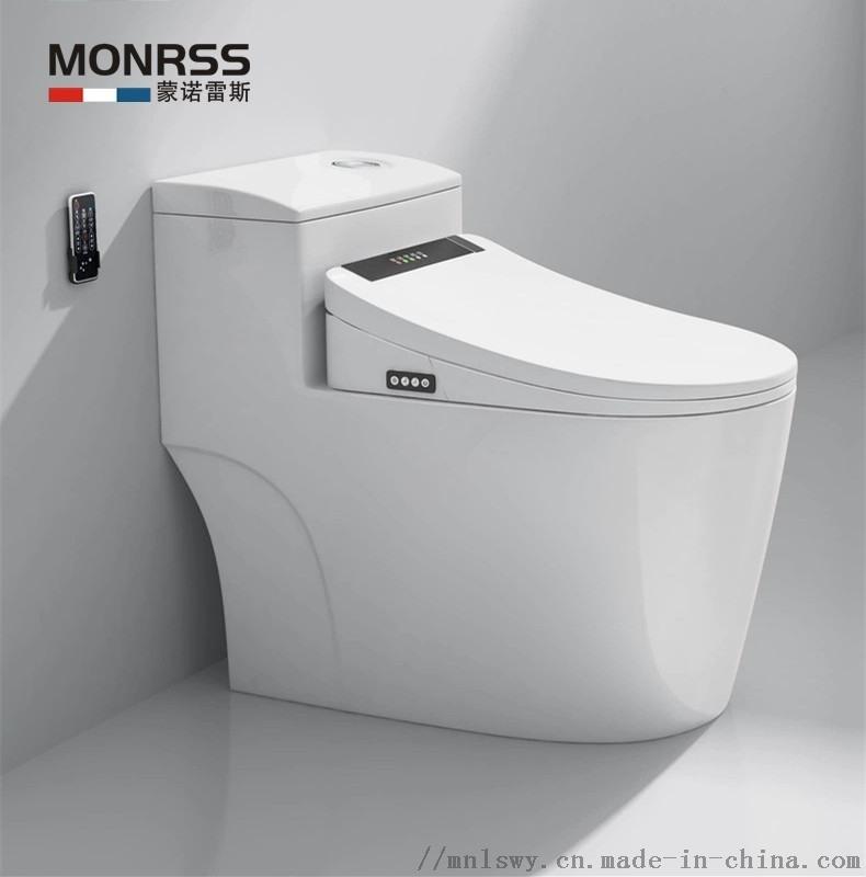 蒙诺雷斯1806坐便器 虹吸式大管道马桶