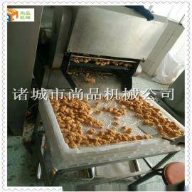 全自动上  块油炸机 鸡肉酥肉油炸机生产线