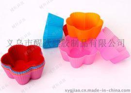 广州加工 日用制品蛋糕模 硅胶马芬杯 硅胶烤盘 创意厨房用品
