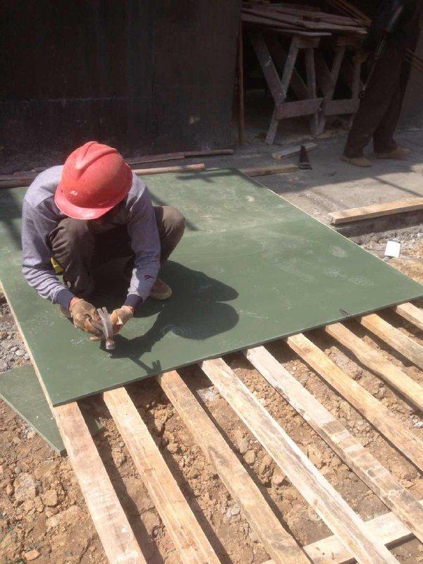 广东塑料板 ,耐磨PVC建筑模板 耐腐蚀PVC建筑建材