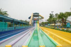 大型水上乐园设备 玻璃钢彩虹滑道 彩虹竞速滑梯