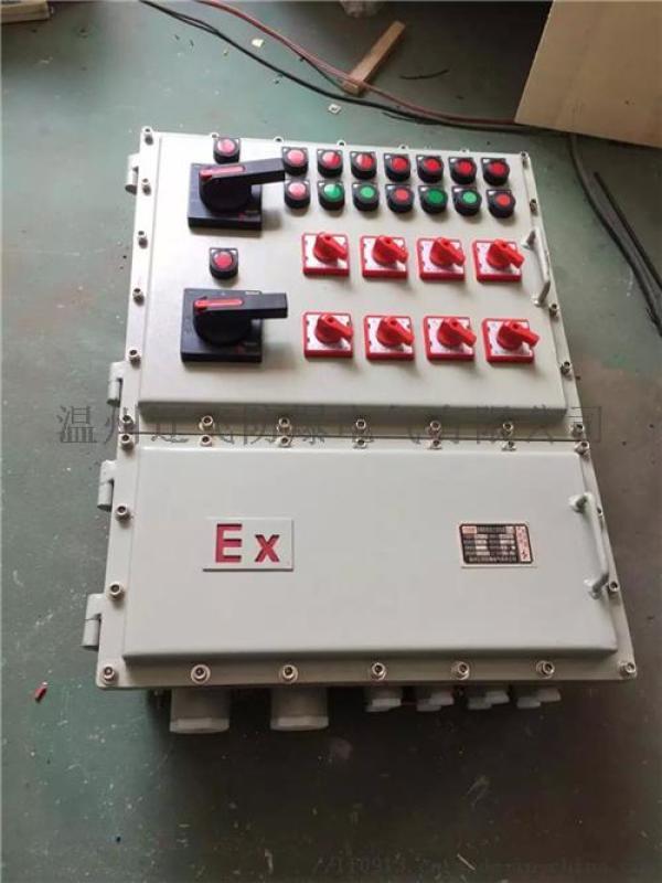 BXK-T电动蝶阀防爆控制箱