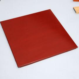 铝扣板厂家直销室内专用木纹铝扣板装饰材料定制