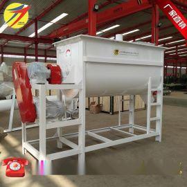 生产厂家直销卧式单轴饲料搅拌机价格低 型号全 猪饲料搅拌机现货