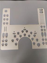 源头厂家直供电子控制面板 PC面板 CNC精雕丝印加工 薄膜开关面板