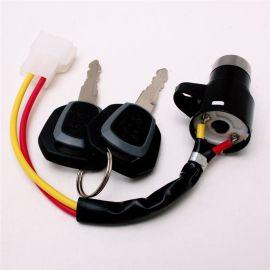 電動轎車合金材質各種款式定制廠家防盜安全通用鎖芯