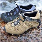 登山鞋男戶外防滑防水透氣耐磨春夏輕便越野徒步爬山網鞋