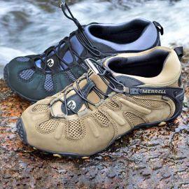 登山鞋男户外防滑防水透气耐磨春夏轻便越野徒步爬山网鞋