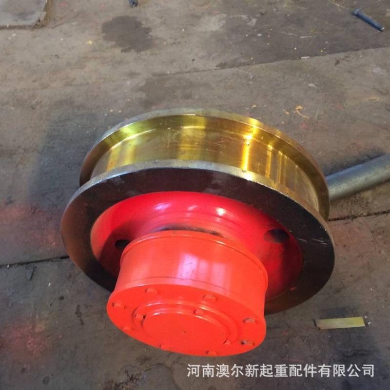 供应优质起重行车轮 Ф400 双梁起重机行车轮组