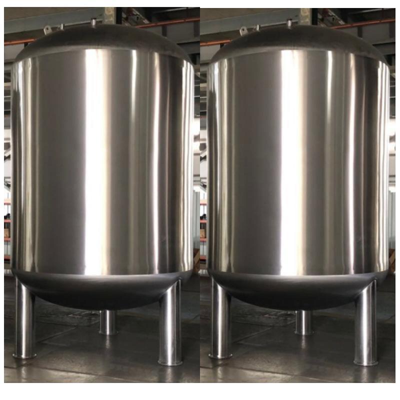 HYC-G儲水罐廠家 不鏽鋼雙層夾套 保溫儲水罐