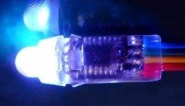 LED铁皮穿孔字灯串