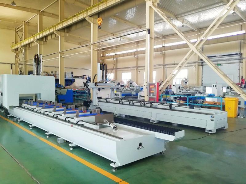 明美MM-1550-CNC铝合金数控加工中心 光伏加工设备 铝工业型材数控加工设备生产厂家 铝单板数控加工设备