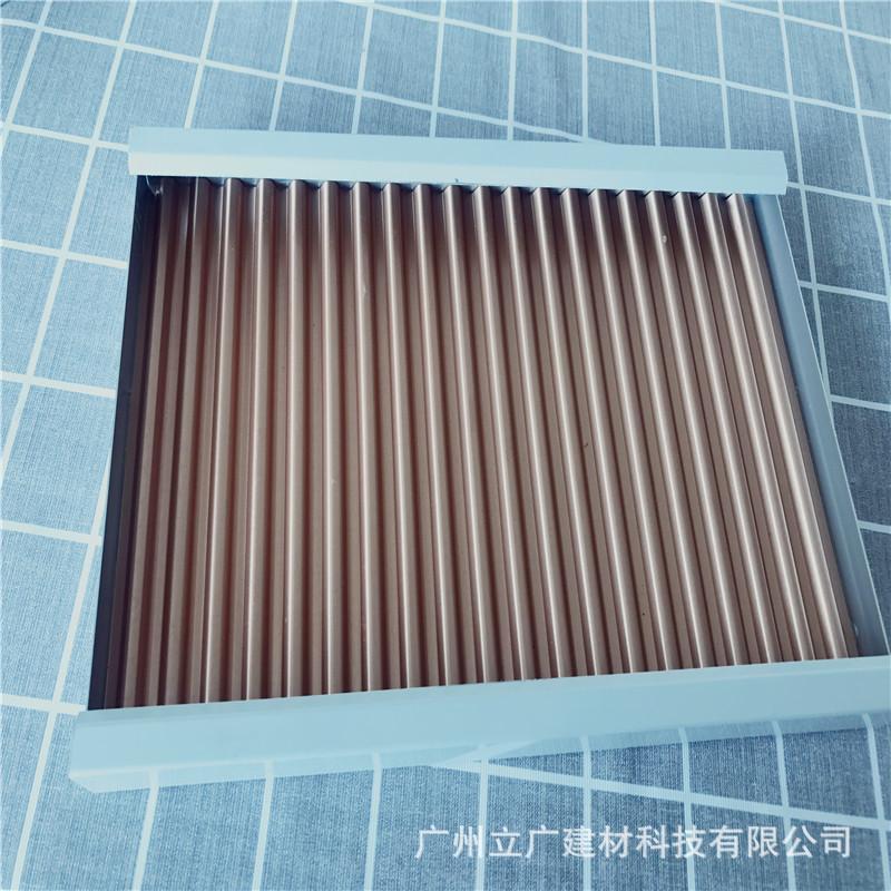 隔音幕牆裝飾材料廣州鋁單板廠家加工定製勾搭鋁單板