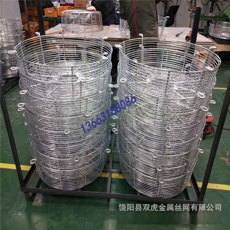 供應喇叭口風機罩 牛舍風機鐵網罩 玻璃鋼風機防護罩