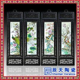 陶瓷瓷版画景德镇礼品 套装陶瓷瓷板画 **骨瓷瓷板画 陶瓷生产厂家