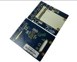 ZIF/CE转mSATA硬盘转接卡