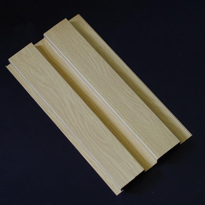 铝波浪板厂家直销幕墙木纹铝长城板规格定制
