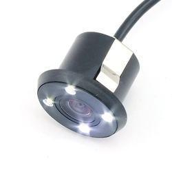 新款带LED车载摄像头 后视打孔20mm摄像头高清晰倒车摄像头