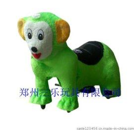 毛绒动物电动车多少钱 江苏常州可爱动物造型电动车价格
