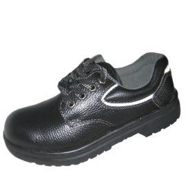 头层牛皮 透气孔防砸防穿刺安全鞋 耐高温劳保鞋