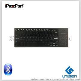 艾拍宝 KP-810-35BTT 10 寸蓝牙键盘 笔记本键盘 6色背光无线键盘