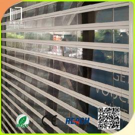 厂家供应水晶卷帘门 商铺电动透明卷帘门