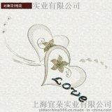 上海宜朵新款3D立体刺绣移门对角花移门装饰贴片 对角花1号