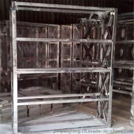 厂家供应不锈钢展示架 不锈钢框架制品定做加工 五金制品加工