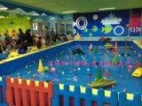 水上樂園遊樂設備, 電動遙控船, 方向盤遙控船