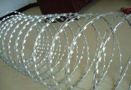 特价刀片刺网围墙焊接型刀片刺绳边防哨所用