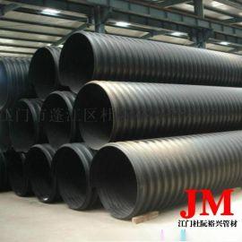 300国标HDPE缠绕管