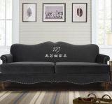 美若婳家具s38美式乡村新古典后客厅双人位沙发欧式田园客厅影楼咖啡厅沙发