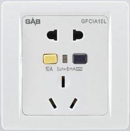 防漏电过电流保护插座