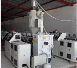 PE/PPR管材挤出机生产线 塑料管材成型机 单螺杆塑料管材挤出机