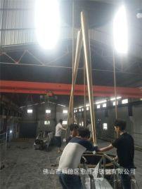 楼顶316不锈钢拉丝避雷针  电镀不锈钢钛金防雷针 厂家实力定做