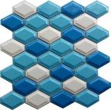 陶瓷菱形马赛克 蛋挞砖 泳池砖 背景墙砖