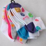 純棉童襪  撞色卡通童襪  卡通襪子