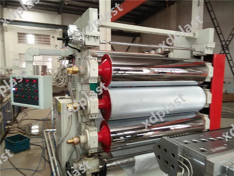 PVC仿大理石塑装饰板生产机器设备