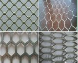 外牆裝飾網格鋁板-外牆門頭拉網鋁單板