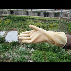 化工廠防護、飯店洗碗牛筋手套/乳膠手套
