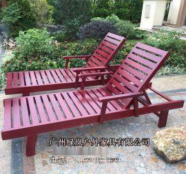 2017新款户外塑料躺椅北京塑料折叠躺椅