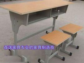 双人课桌椅价格|焦作可升降课桌椅|学生升降课桌现货**