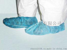 上海翔絮厂家直销一次性无纺布加厚耐磨防尘鞋套