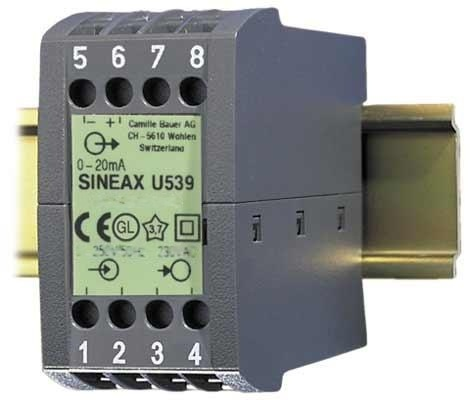 SINEAX U539電壓變送器-SINEAX U539